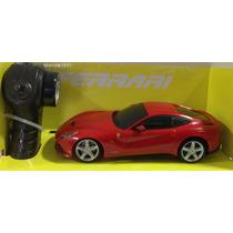 Carrinho De Controle Ferrari F12 Berlinetta 1:24 Radio Contr
