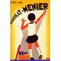 Cartaz Poster Vintage Chocolate Francês Menina Escrevendo