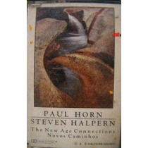 Fita K7 Paul Horn / Steven Halpern - The New Age Connection
