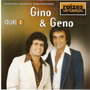 Cd Raízes Sertanejas - Gino & Geno - Vol . 2 - Novo***