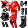 Kit Insane 3 Pro Tork 2013 Equipamento Trilha Motocross