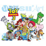 Vetores Toy Story Para Convites,estampas,plotagem,desenhos
