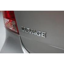 Emblema Adesivo Nome Vw Voyage G5 Cromado