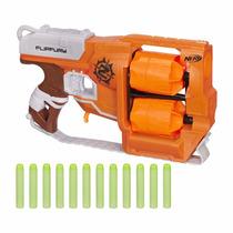 Disparador Nerf Zombie Dirtydozen Flipfury B0562