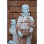 São Francisco Escultura Mármore Esculpido A Mão - Imp104