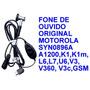 Fone De Ouvido Original Motorola A1200