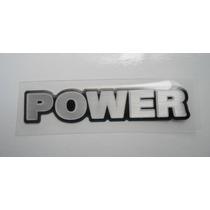 Emblema Resinado Power Gol Geração 3 - Mmf Auto Parts
