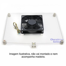 Kit 2 -resistência+ventilação P/chocadeira De 100 A 200 Ovos