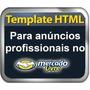 Template Profissional Editavel Html P/ Anuncio Mercado Livre