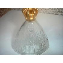 Decoração Lindo Vidro Vazio Perfume Nossa Senhora Aparecida