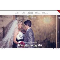 Template Wordpress Para Empresas Foto E Vídeo C\ Portfólio
