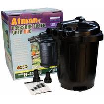 Filtro Pressurizado Para Lagos Atman Ef4000 Com Uv De 9w