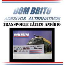 Adesivos Para Transporte Tático Anfíbio Comandos Em Ação