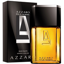 Azzaro Pour Homme 100ml Edt - Made In France Lacrado & Novo!