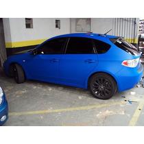 Envelopamento De Carro Adesivo Azul Fosco 1,22 Largura