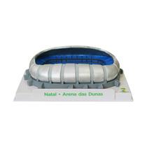 Miniatura Estádio Copa 2014 Arena Dunas + Frete Grátis