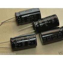 100 Capacitor Eletrolitico Radial 4.700uf X 25v (0,90 Cada)