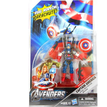 Avengers - Captain America Aerial Infiltration - Hasbro