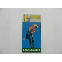 Lápis De Cor C/12 Cores Faber Castell Antigo Sem Uso