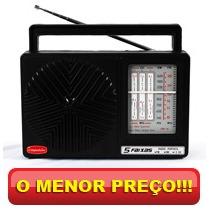 Rádio Portátil 5 Faixas - Companheiro