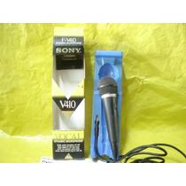Microfone Sony F-v410 - Novo - Mineirinho - Cps. -