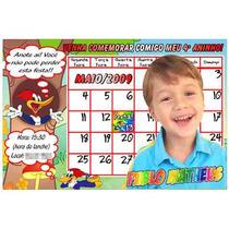 30 Convites Personalizados Infantis 10 X 15 + Envelopes