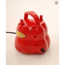 Inflador/compressor De Balão/bexiga/canudo - 2 Bicos