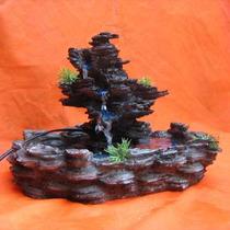Fonte De Água Imita Pedra Cascata Frete Grátis Sp Mg Rj Sc