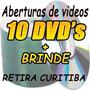 Backgrounds, Aberturas E Edição De Vídeo - 10 Dvd