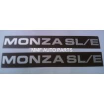 Plaqueta De Friso Monza Sl/e 87 A 89 - Mmf Auto Parts.