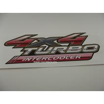 Emblema Adesivo 4x4 Turbo Intercooler Toyota Hilux