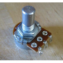 Mini Potenciometro 16mm Alpha P/ Pedal W20k Tubescreamer