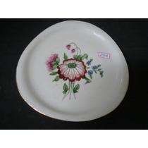 #2408# Prato Parede Porcelana Mauá, Pintado À Mão!!!