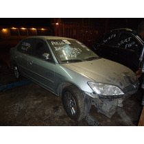 Sucata Honda Civic Lxl 2005