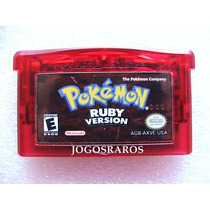 Pokémon Ruby Original Americano!! Selo De Autenticidade!!