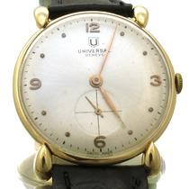 Relógio Universal Geneve Com Segundeiro Em Ouro 18k J10857