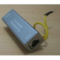 Protetor De Rede Lan Rj45 Raio Aterramento Ethernet 10/100/g