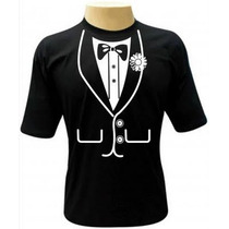 Camiseta Smoking,terno