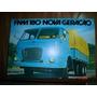 Folder Fnm 180 1976 Caminhão Catalogo Truck Fiat Prospecto