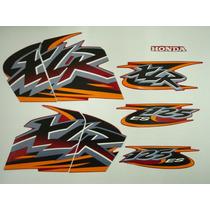 Adesivo Xlr125 2001 Es Vermelha, Faixa Original Completa