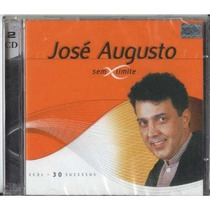 Cd José Augusto - Sem Limite - Duplo - Lacrado