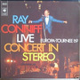Ray Conniff - Lp Live Concert In Stereo Europa Tournee 1969