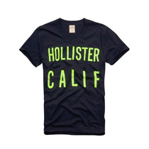 Camiseta Manga Curta Hollister Desert Spring Gola V
