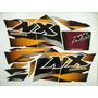Adesivo Nx200 2000 Vinho, Faixa Original Completa