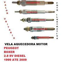 Vela Aquecedora Peugeot Boxer 2.8 8v Diesel 1999 Ate 2009