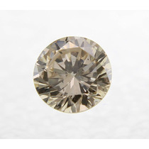 Diamante 0.60 Cts Marrom Intenso - V S 2 - Certificado I G L
