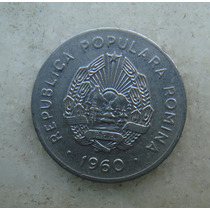 4809 Republica Popular Romenia 25 Bani, 1960, Inox, 22mm