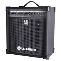 Caixa Amplificada Ll Lx100 Microfone Guitarra Violão E Usb