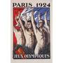 Jogos Olimpicos Paris 1924 Homens Poster Repro