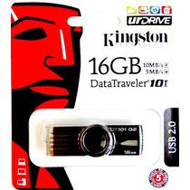 Pen Drive Kingston 16gb Original Frete R$ 9,90 P/ Brasil